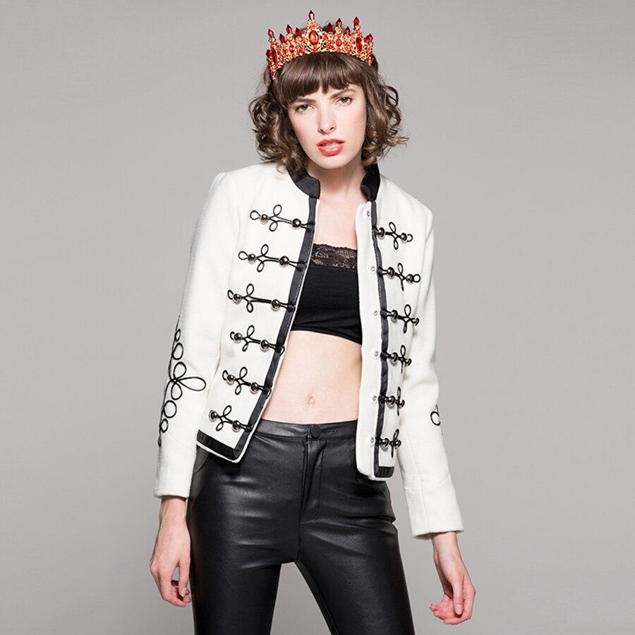 De Manteau Longues Automne Blanc Européenne À Manches Métal Bouton Femme Vestes Offre 2019 Rue Spéciale Qualité Haute Nouveau 3d Mince Populaire UwqvXSZH