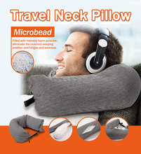 EPS Particles Cotton Pillow Side Sleeper Pillows Neck & Back Hold Spine Protection Health Care