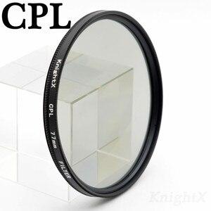 Image 2 - KnightX Polarizer 49mm 52mm 58mm 67mm 77mm cpl Filter for Canon 650D 550D Nikon Sony DSLR SLR camera Lenses lens d5200 d3300