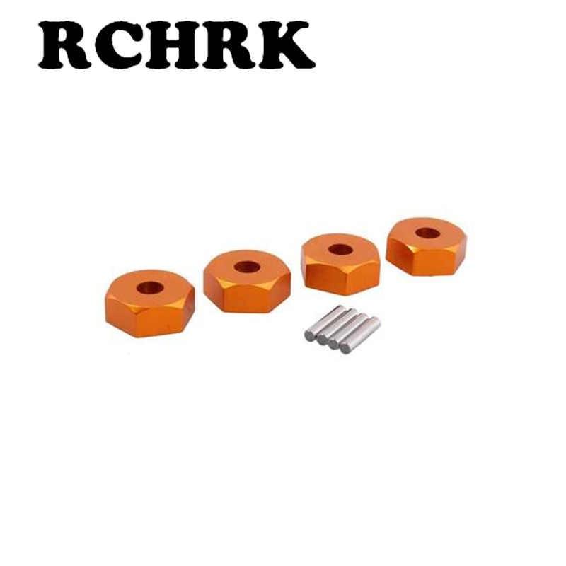 RC coche HSP 102042 122042 rueda tuerca hexagonal 12 MM Hubs con pines 02100 Actualización de 1/10 piezas para 94122 94123, 94111, 94108, 94177