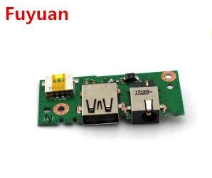 NEW USB IN BOARD FOR ASUS X401A X501A X301A X301 X401 USB Board DC Power Jack In Board Charging Borad brand new dc power jack for asus g71 g71g g71gx g73 g73j g73jh g73jw g73sw x83 x83v x83vm m50vn m50s m50v m51v 2 5mm