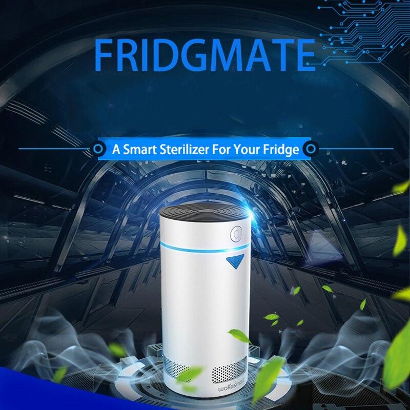 Wokesmart Refrigerator Deodorizer Ionizer Air Purifier Fridge Ionic Food Freshener Preserver IOS Android