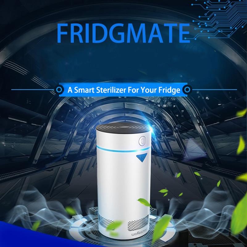 Wokesmart холодильник дезодорант, ионизатор Воздухоочистители, холодильник ионной Еда освежитель Хранитель IOS Android