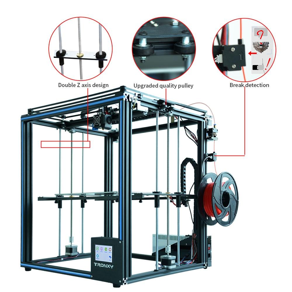 Automático de Nivelamento Meanwell Criatividade 3d Cr-10s Pro