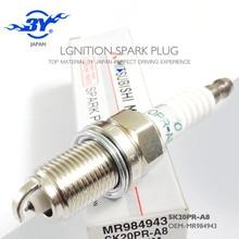 Marca (4X) SK20PR-A8 & MR984943 Iridium Vela de Ignição para 2003-2006 Mitsubishi Montero 3.8L