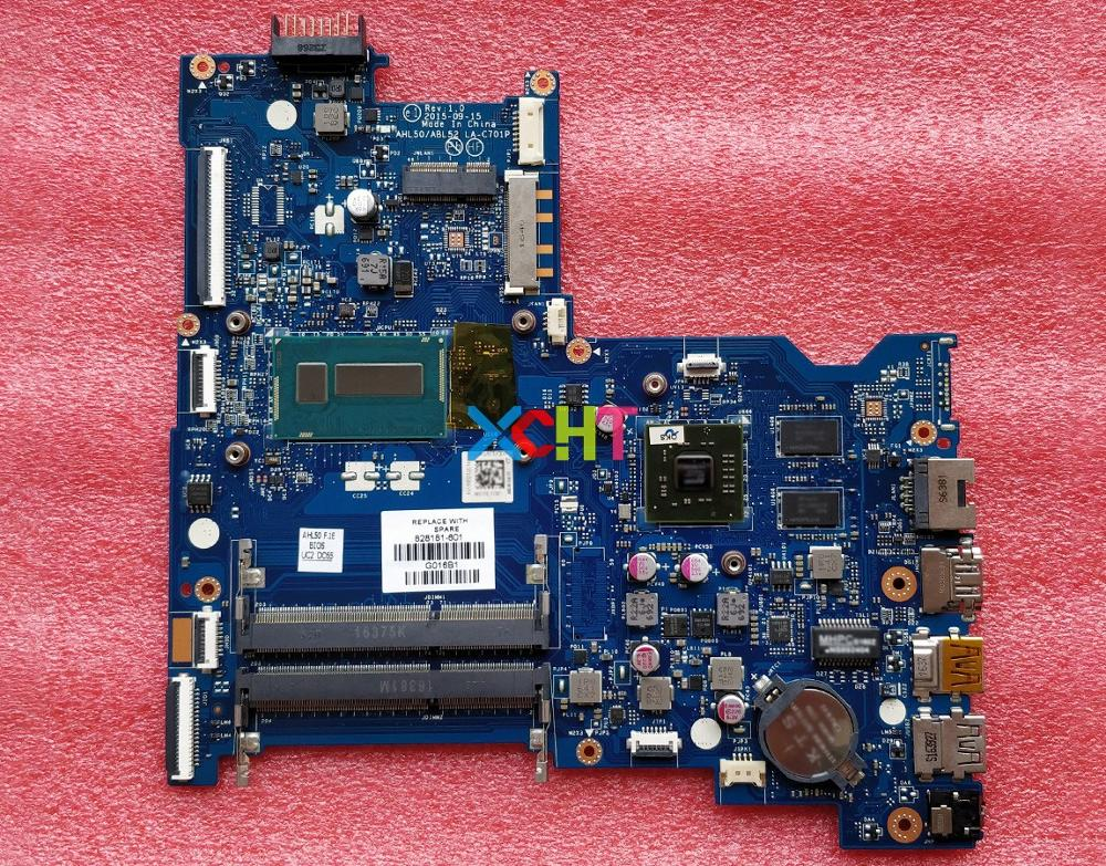 for HP Pavilion 15 AC Series 828181 601 w I3 5005U CPU 216 0867030 R5M330/2GB AHL50/ABL52 LA C701P Motherboard Mainboard Tested-in Laptop Motherboard from Computer & Office
