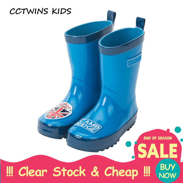 le dernier f9042 e17f0 € 14.01 32% de réduction|CCTWINS enfants printemps automne bébé garçon mode  botte de pluie pour enfants en caoutchouc chaussure enfant marque ...
