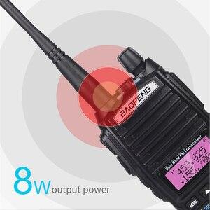 Image 2 - 10km 8W Двухполосный рация UV 82 Baofeng UV 82 FM трансивер портативное радио ветчина 128CH VHF/UHF UV 82 Двухстороннее радио 2800mAh