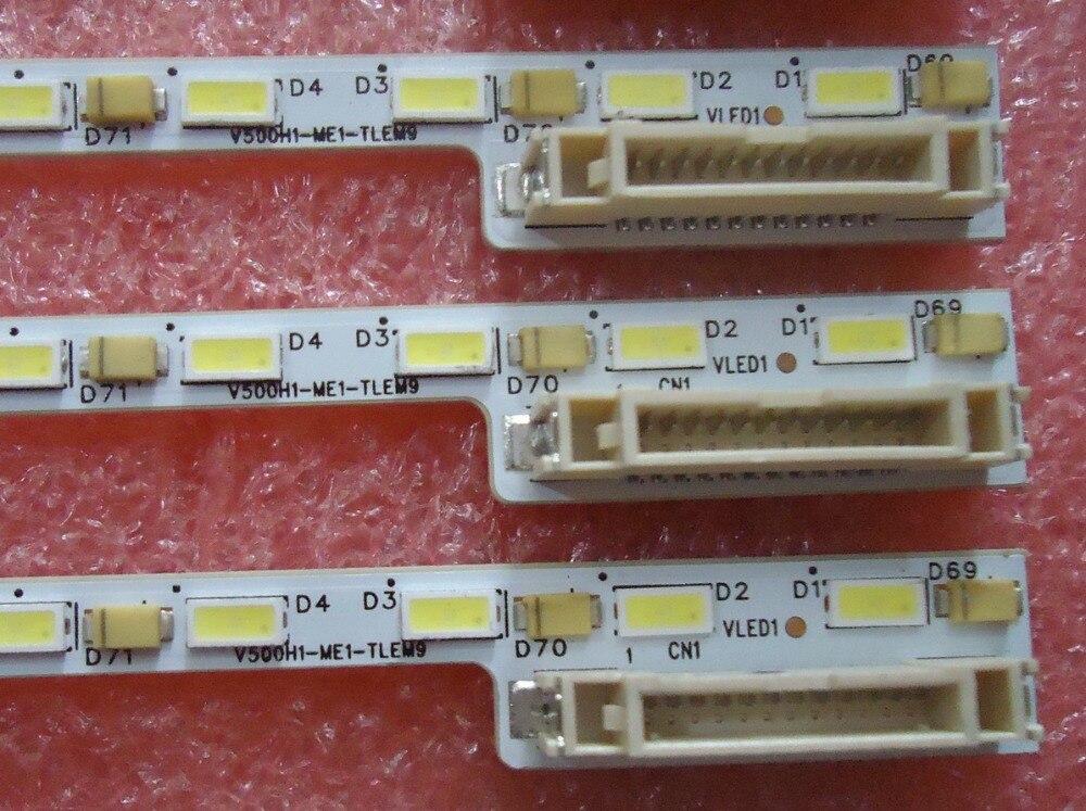 V500H1-ME1-TLEM9 For screen V500HJ1-ME1 623MM for haier le50a5000 50du6000 article lamp v500h1 me1 tlem9 1piece 68led 623mm