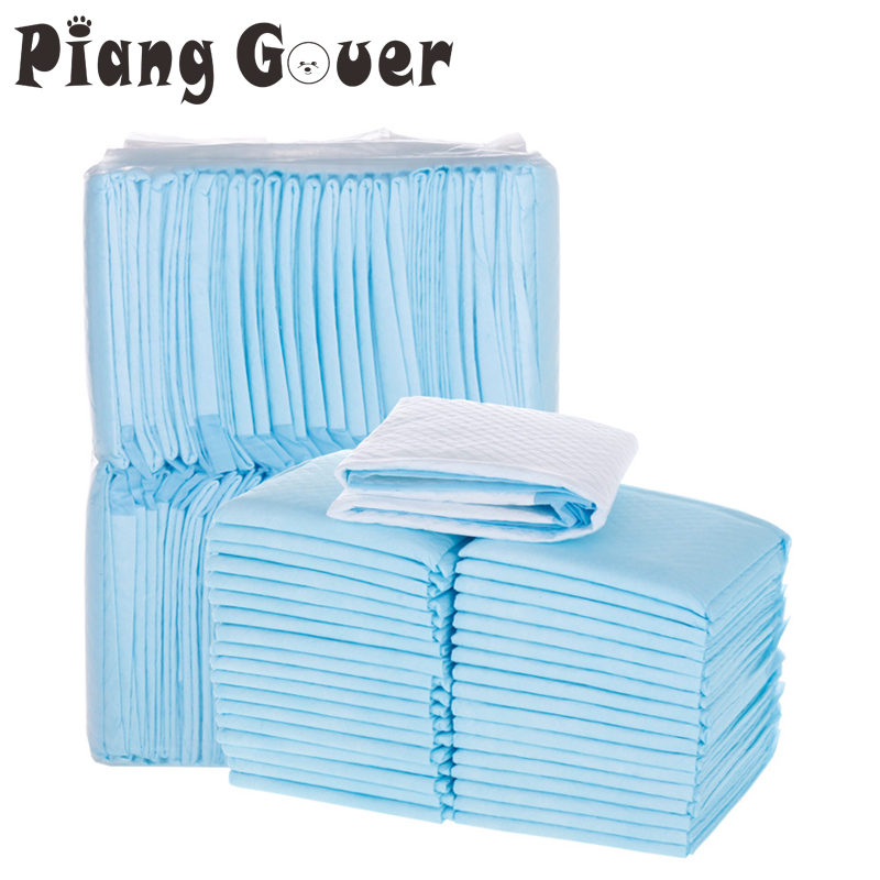 Dog Puppy Pads Diapers Super Absorbent Pet Baby Born Cat Dog Training Diapers Clean Urine Pads Pet Cage Mat