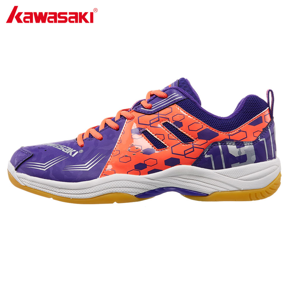 Kind-Hearted Kawasaki Brand Professional Badminton Shoes Men Women Sports Shoes Sneakers For Indoor Court Pvc Floor K-070 2018 New