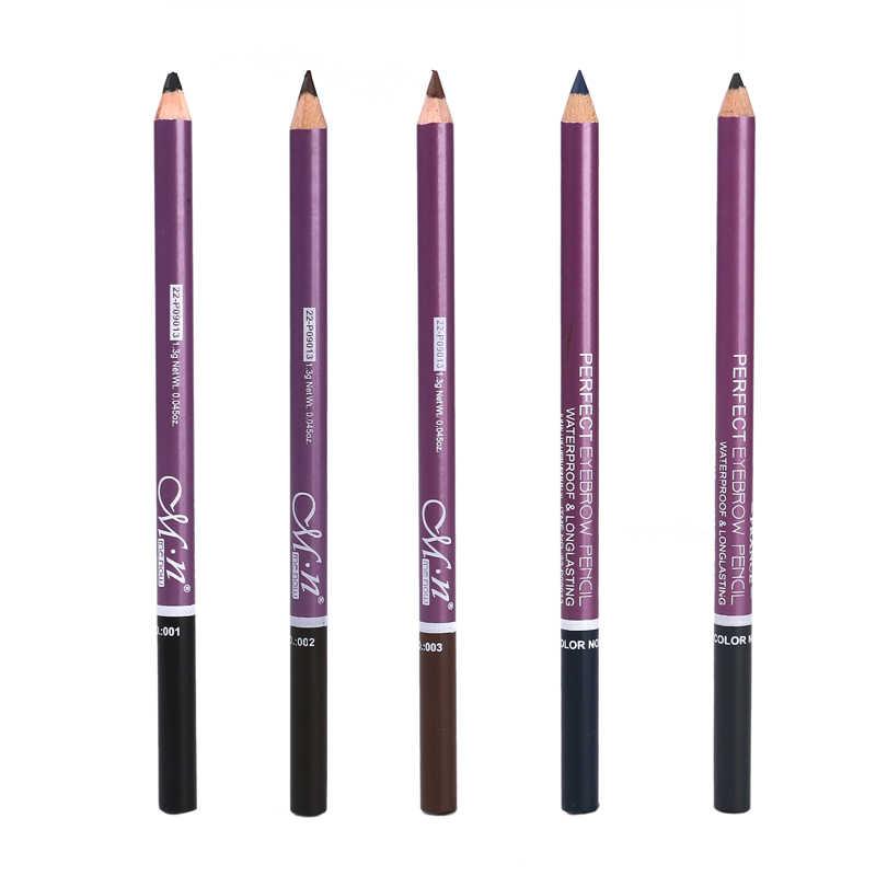 1 ADET Kadınlar Çift başlı Kaş Kalemi Fırça Ile Su Geçirmez anti-ter Uzun ömürlü Makyaj Kozmetik Aracı 3 renk TSLM1