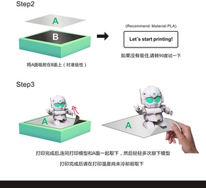 Image 3 - Funssor Grote Maat Magnetische Print Bed Tape Print Sticker Bouwen Plaat Tape Flex Plaat Systeem