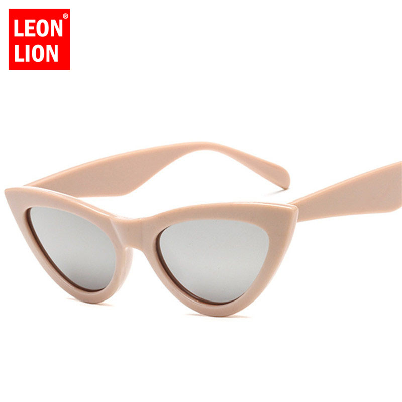 LeonLion New Cateye Sunglasss Women Small Frame Vintage HD Candy Color Sun Glasses Men Outdoor Goggles Oculos De Sol UV400 ...