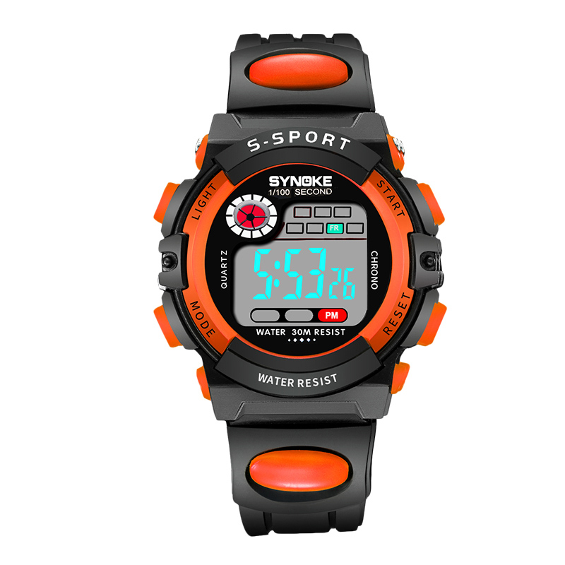 Sport Kids Watches Timer Alarm Chrono Digital Wristwatches
