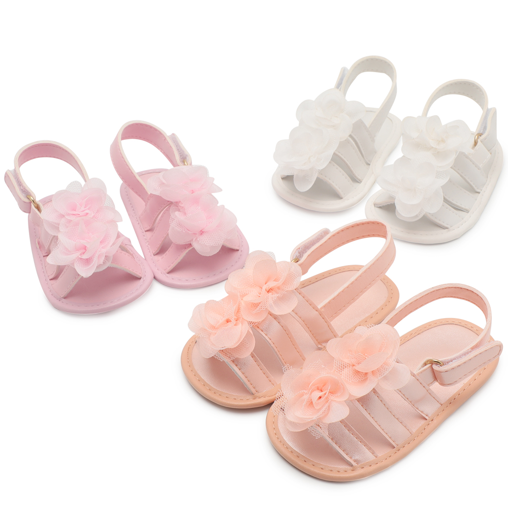 Baby Girl Infant Shoes Sandals Shoes Newborn Summer Footwear Baby Moccasins Infant Shoes For Baby Anti-Slip Bebes Kids 0-18 M