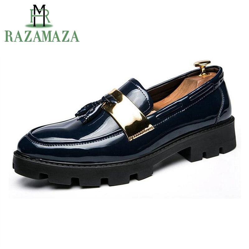 Punta Razamaza 44 Hombre Casual Hombres Conducción 38 Diario Zapatos zgU4BB