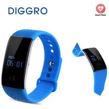 Diggro S1 сердечного ритма и крови кислородом Мониторы Смарт Браслет Спорт Фитнес трекер Браслет Bluetooth Smart часы сна Мониторы