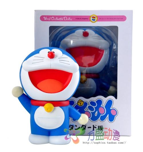 18cm Doraemon anime Action Figures Anime PVC brinquedos Collection Figures toys AnnO00683H