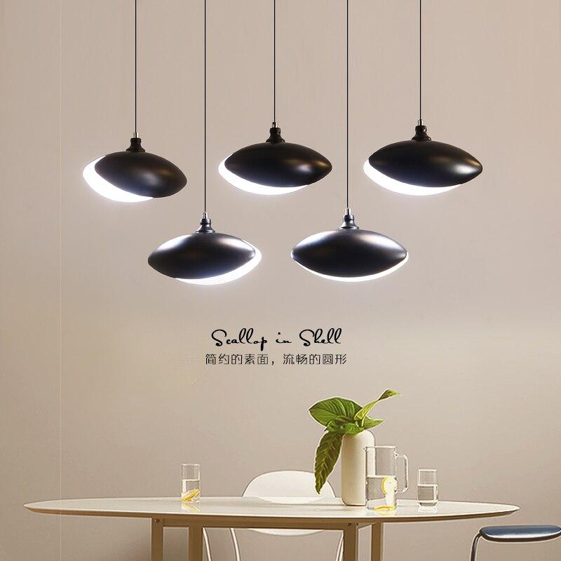 цена Modern pendant lights indoor home lighting kitchen dining bar lustres e pendentes para sala de jantar suspension luminaire lamp