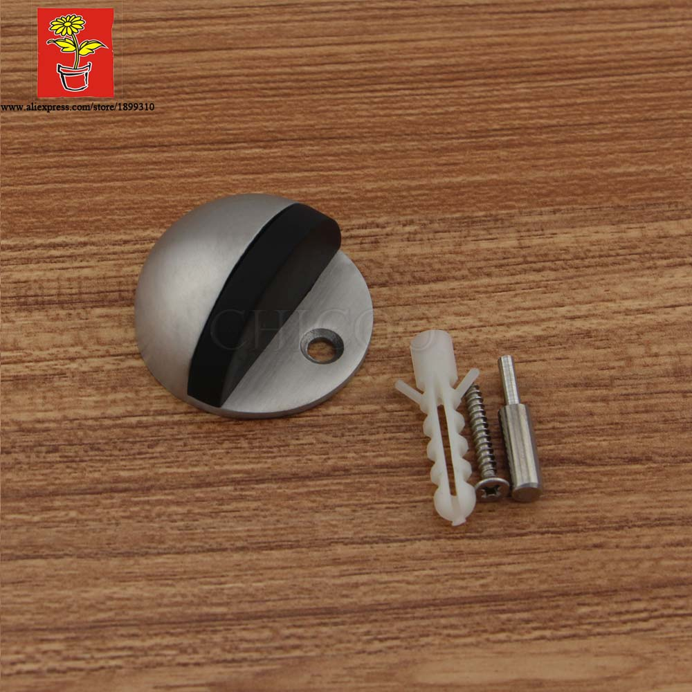 Wholesale 5pcs Stainless Steel Rubber Door Stopper