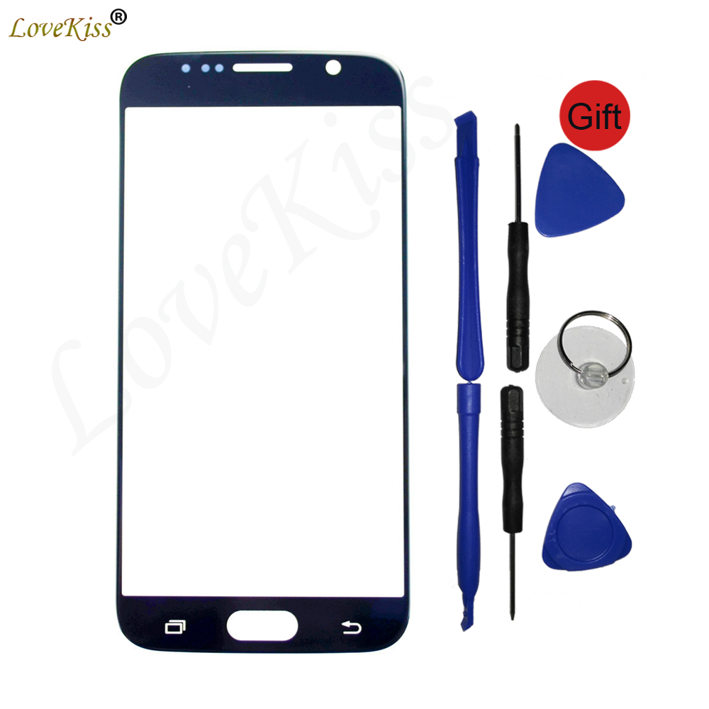 <font><b>S6</b></font> Touchscreen Panel For <font><b>Samsung</b></font> <font><b>Galaxy</b></font> <font><b>S6</b></font> G920 G920F G920A Touch Screen Sensor LCD Display Digitizer <font><b>Glass</b></font> TP Cover <font><b>Replacement</b></font> image