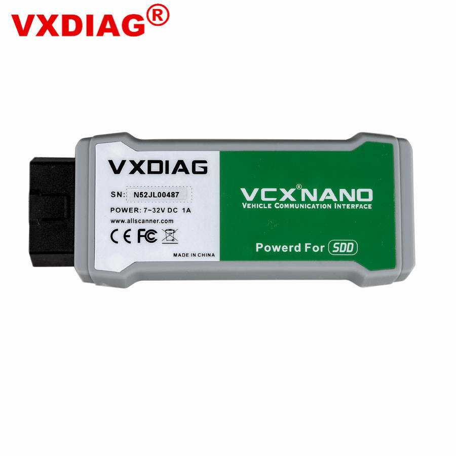 VXDIAG VCX NANO for Land Rover/Jaguar V145 VXDIAG VCX NANO Auto Diagnostic Tool for Almost All Land Rover/Jaguar Update By CD руководящий насос range rover land rover 4 0 4 6 1999 2002 p38 oem qvb000050