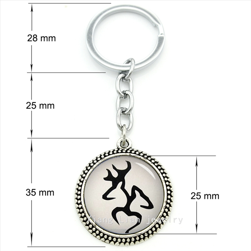 Most Popular Gifts For Women 2016 Part - 28: 2016 The Most Popular Fashion Animal Keychain Male Deer And Female Deer  Buck U0026 Doe Art Pendant Ring Jewelry Men,women Gift T449-in Key Chains From  Jewelry ...