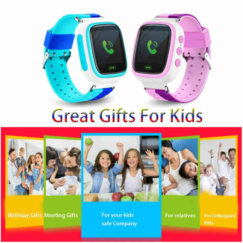 Facebook Smart Watch for Kids Safe LBS SOS Camera Call Baby Wristwatch Waterproof Gift for Children GPS PK Q90 Men Women Watch
