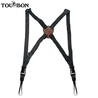 Tourbon Hunting Binocular Strap Camera Carrier Elastic Durable Nylon