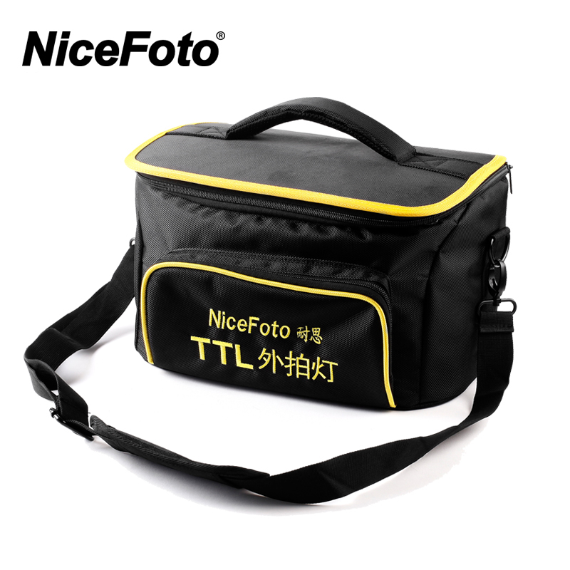 NiceFoto TTL 480C 400W TTL 2 4G Wireless GN68 HSS 1 8000S Studio Flash High Speed Speedlite with Transmitter for Canon Camera in Photographic Lighting from Consumer Electronics