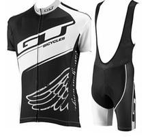 2016 GT Велосипедов велоспорт трикотажные изделия quik сухой дышащий Лето с коротким рукавом велосипед одежда и биб шорты Roupa Ciclismo велосипед комплекты