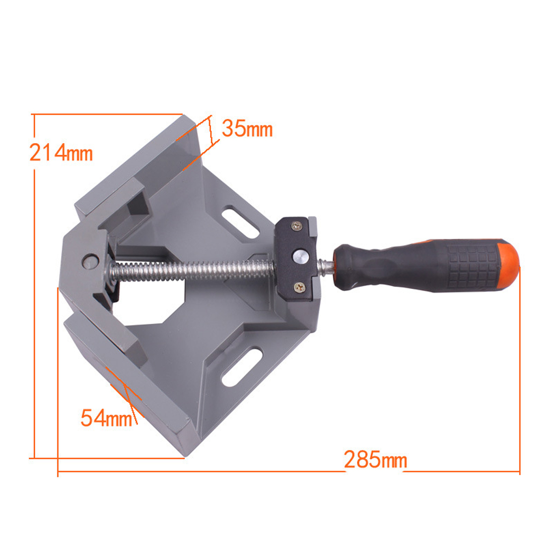 Woodworking Clip Photo Frame Gussets Tools 90 dgree Right Angle Carbide Vice Clamps цена