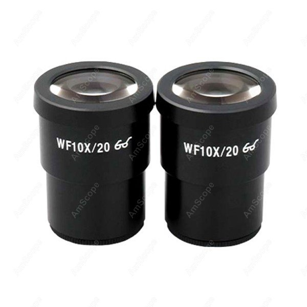Microscope Eyepiece-AmScope Supplies Pair of Super Widefield 10X Microscope Eyepieces (30mm)  цены
