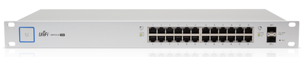 Ubiquiti UniFi Switch US-24-250W 802.3af/at Managed PoE+ Gigabit Switch with SFP UBNT Unifi Switch unifi switch us 48 500w 802 3af at managed poe gigabit switch with sfp ubnt unifi switch