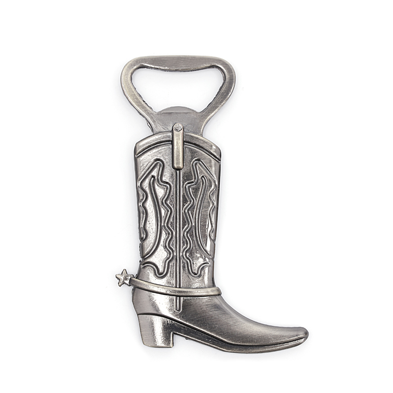 Nice 1 pc Just Hitched Cowboy Boot Bottle Opener for Western Birthday Wedding Favor Party Cute Supplies