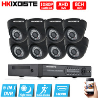 8CH 1080P HDMI DVR 2 0MP 1080P HD Indoor Home Surveillance Security Camera System 8 Channel