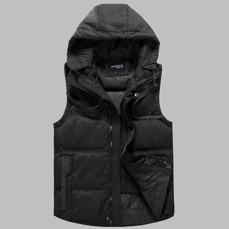 2016 new arrival męska dół kamizelka grube otyłych moda kurtka odzież wierzchnia plus rozmiar XL 4XL 5XL 6XL 7XL 8XL 9XL 10XL 11XL 12XL 13XL w Kamizelki od Odzież męska na  Grupa 1