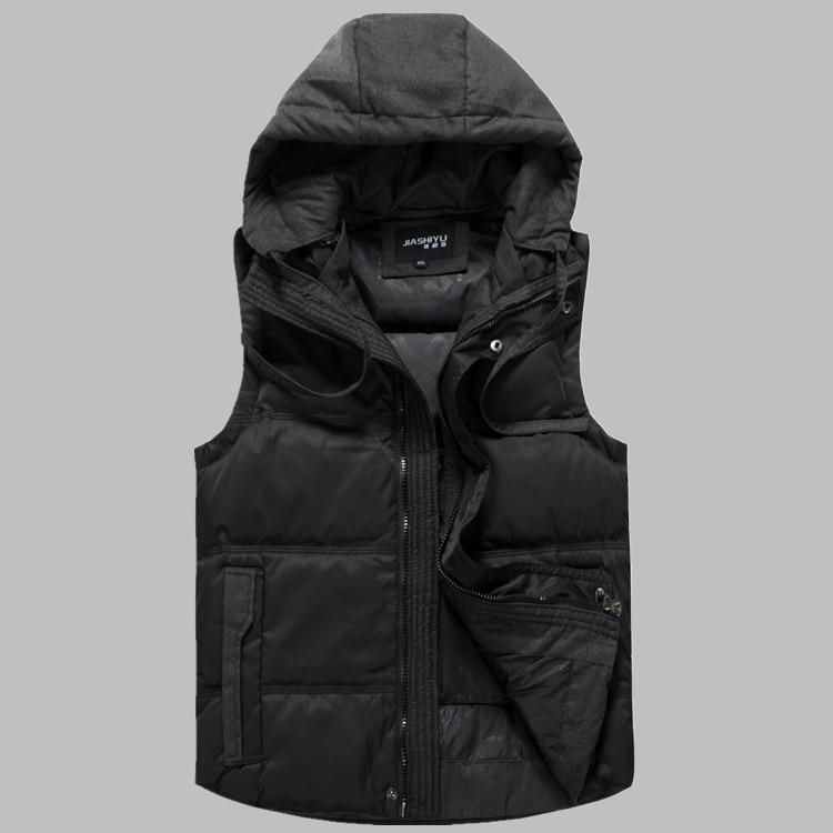 2016 new arrival men's down vest thick obese fashion jacket outerwear plus size XL- 4XL 5XL 6XL 7XL 8XL 9XL 10XL 11XL 12XL 13XL