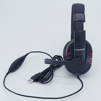High Quality PRO USB Stereo Headphone With Microphone GAME Gaming Headset For PlayStation PS3 PS 3