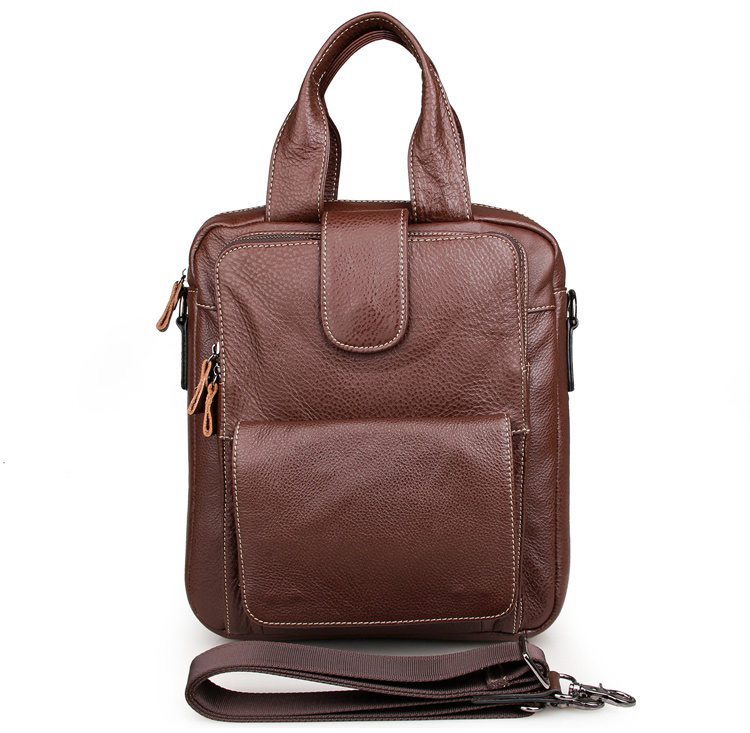 Здесь продается  J.M.D  Genuine Leather Men Double Handle Hand bag J.M.D  Shoulder Bag 7266B  Камера и Сумки