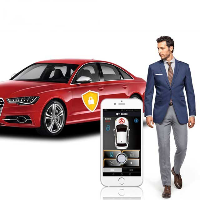 Auto Smartphone Remote Car Start Keyless Entry Comfort System PKE Phone Central Locking Car Engine Car Alarm Push For Reiz 2014