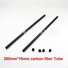 10mm Carbon Tube Kit 10mm Carbon Tube Fiber Tarot Rc 650 680 Parts Diy Drone Kit Quadrocopter Quadcopter Frame Quadrocopters