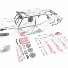 King Motor rolling Cage+ комплект чехлов для тела baja 5b обновление до 5t 5sc для HPI Baja 5B SS 2,0 5T Rovan Buggy DIY Панель