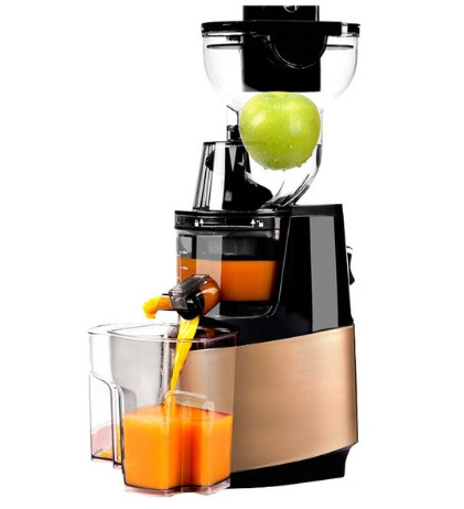 250w Powerful 90mm Large Diameter Wide Mouth Fruit Nutrition Slow Juicer Fruit Vegetable Tools Multifunctional Fruit Squeezer