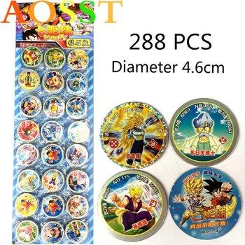 288PCS Game Dragon Ball Card Collection Battle Card Battle Game Children's Cards Toy Son Goku Ultra Instinct Saiyan Naruto