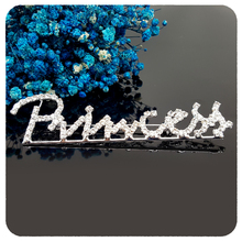 GRANDBLING New Arrival Shinning Crystal Fancy Design of Princess Words Brooch Pins Unique Handmade Jewelry Gift