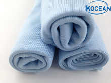 10pcs/lot 35cm*35cm Light Blue Microfiber Cleaning Cloth,Household Towel for Window, Glass Towel Water Absorption Free Shipping