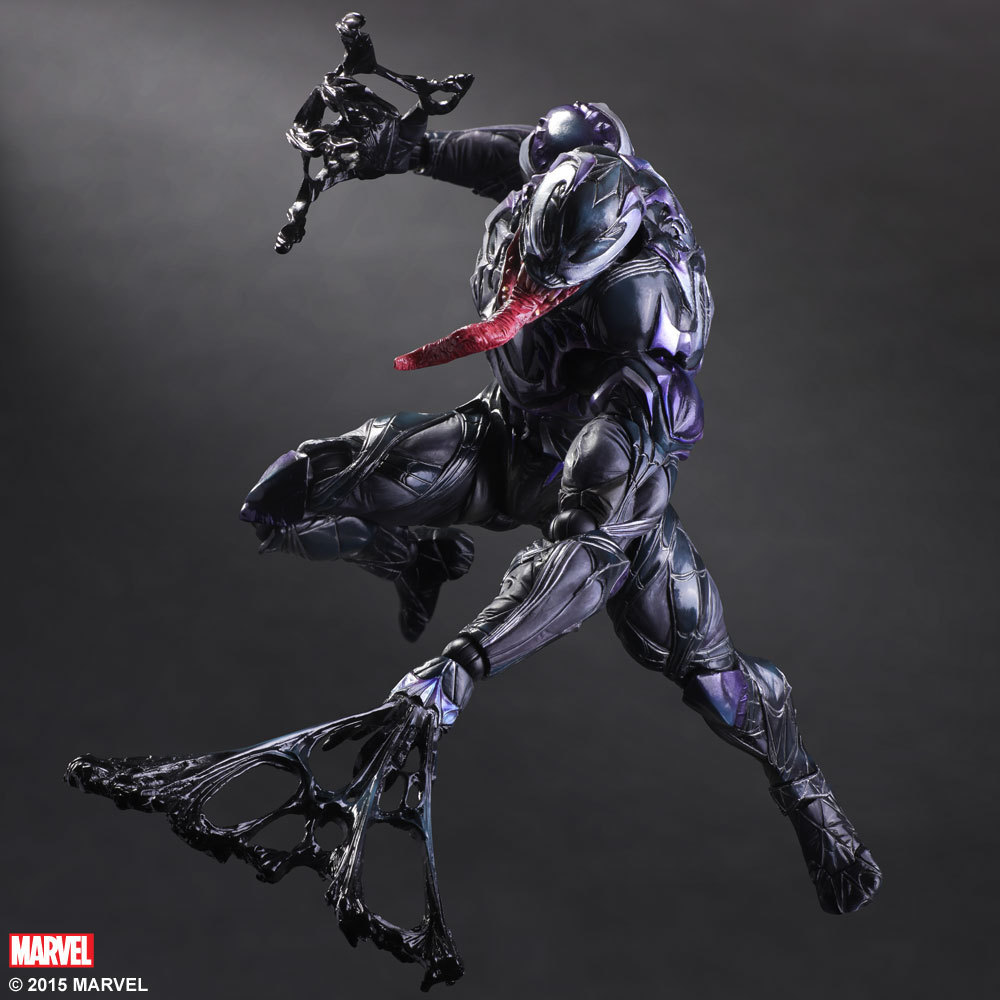 Играть искусств Кай Человек-паук Venom вселенной Marvel вариант фигурку коллекция игрушек 25 см