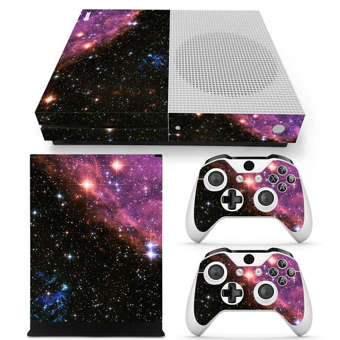 free drop shipping Designer vinyl decal skin sticker for  xboxone slim games console #TN-XboxOneS-0636